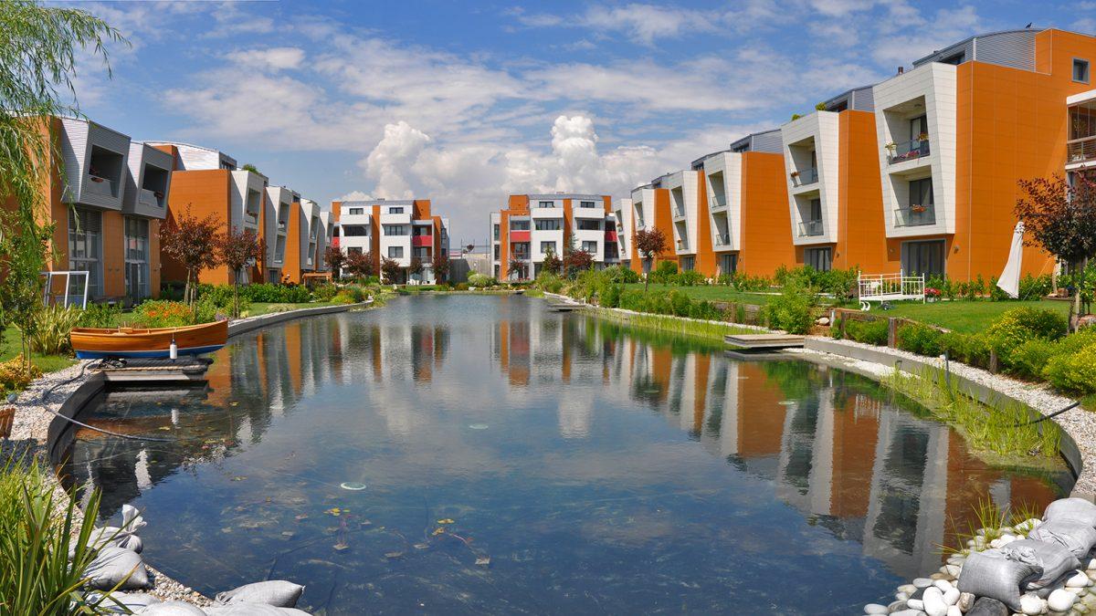 Sinpaş Lagün Evleri - Biyolojik Gölet