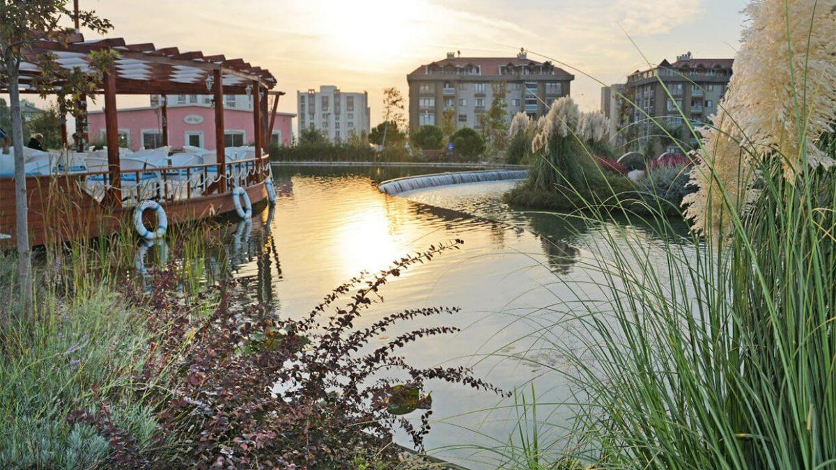 Atatürk Parkı Büyükçekmece - Biyolojik Gölet