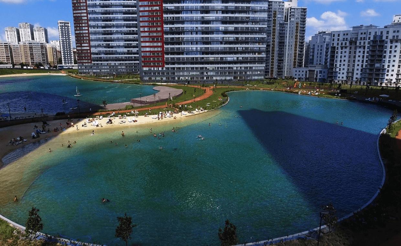 Garanti KozaPark - Biyolojik Yüzme Göleti