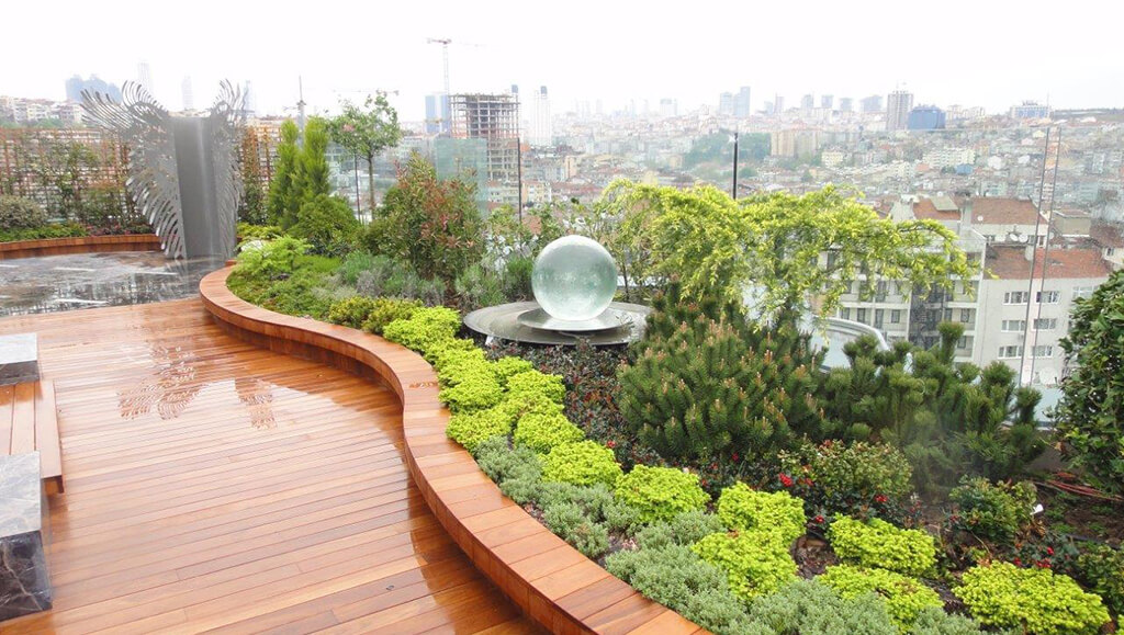 cem boanik - hizmetler - Yeşil Çatı