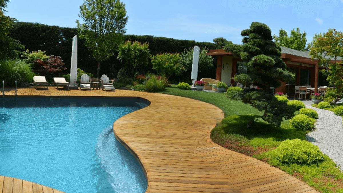 Özel Villa Bahçesi Silivri - Biyolojik Yüzme Havuzu