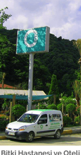 cem botanik - hizmetler - Bitki Hastanesi ve Oteli