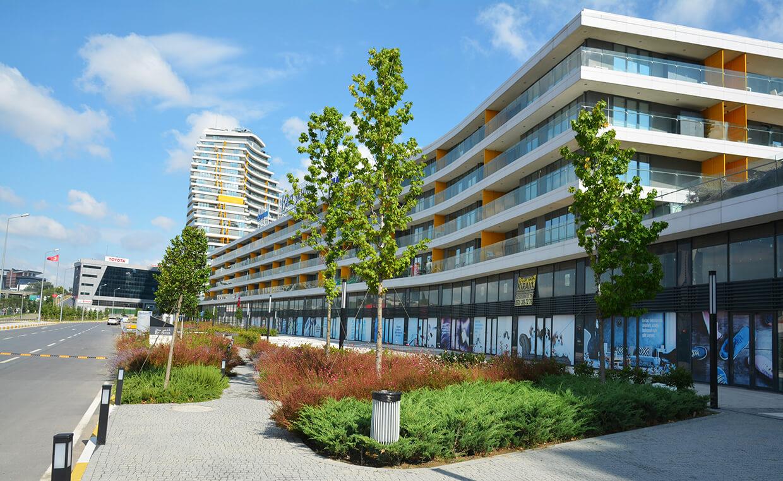 Ege Yapı Batı Şehir - Sert Zemin Uygulaması