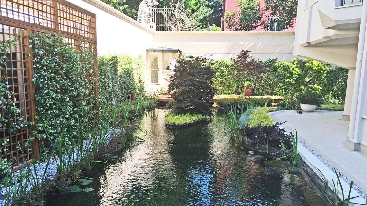 Özel Villa Bahçesi - Biyolojik Gölet