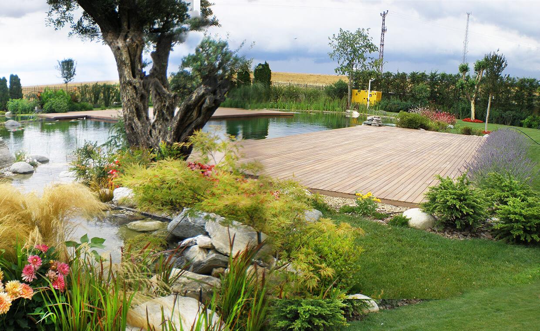 Özel Villa Bahçesi - Biyolojik Yüzme Göleti
