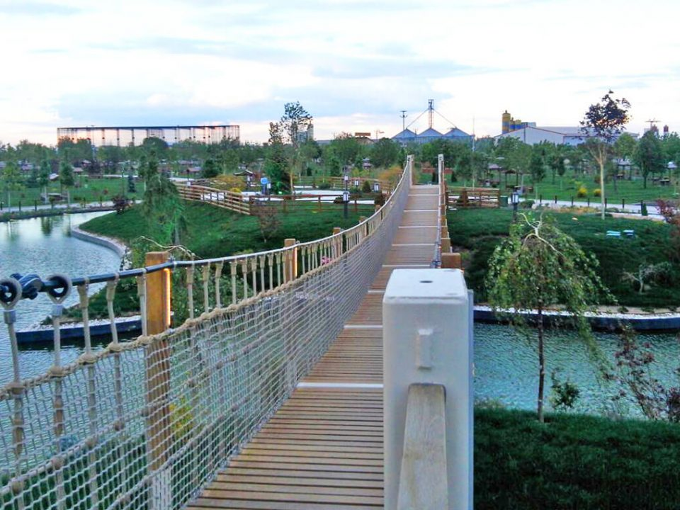 Karatay Şehir Parkı - Biyolojik Gölet