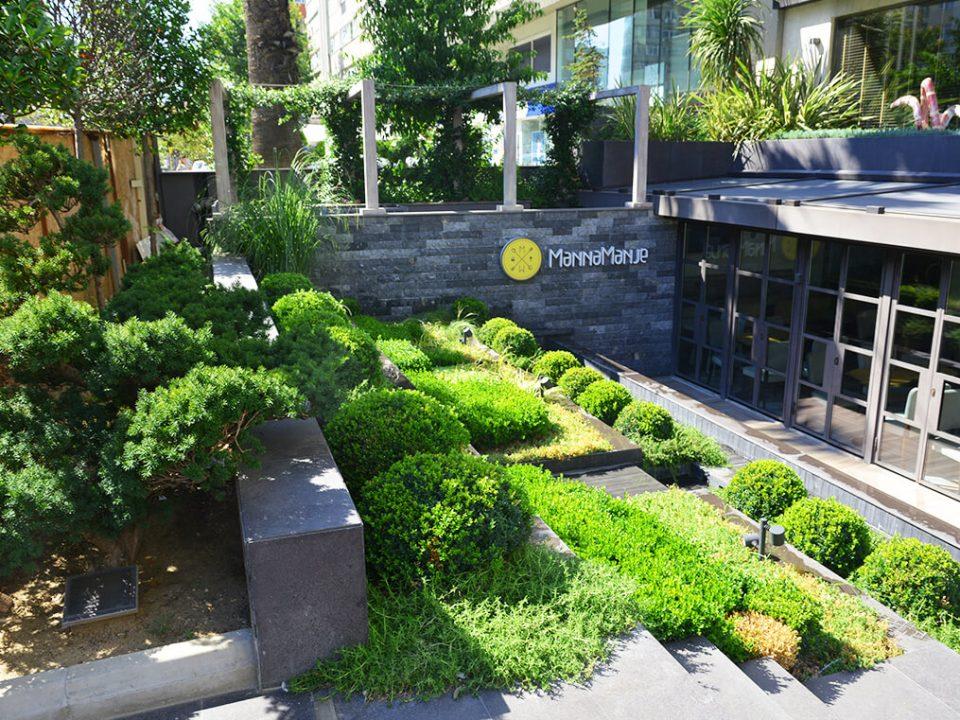 Manna Hotel - Teras Bitkilendirme