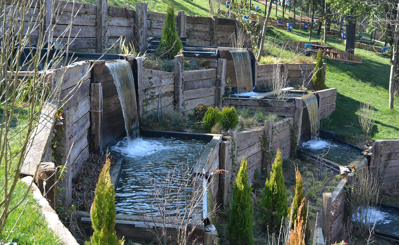 Üsküdar Nakkaştepe Millet Bahçesi - Biyolojik Süs Göleti